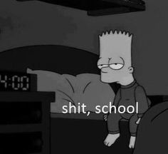 Image discovered by Find images and videos about cartoon, the simpsons and bart simpson on We Heart It - the app to get lost in what you love. Simpsons Frases, Simpsons Quotes, The Simpsons, Mood Wallpaper, Iphone Wallpaper, Simpson Tumblr, Sad Girl, Mood Quotes, Reaction Pictures