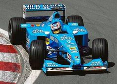 Mild Seven Benetton N°12 Alexander WURZ Benetton B200 Playlife FB02 V10 3.0 Bridgestone