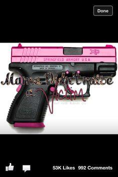Girls gun
