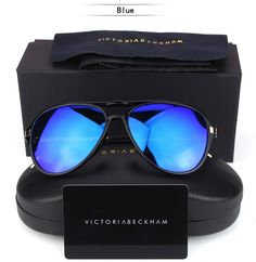 f86e33a84c 2016 Victoria Beckham Polarized Sunglasses Unisex UV400 VB Vintage Pilots Sun  Glasses with Original Box