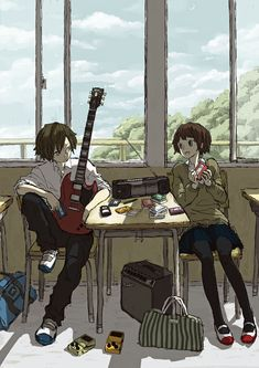 Pretty Art, Cute Art, Manga Art, Anime Art, Arte Obscura, Funky Art, Anime Music, Image Manga, Art Reference Poses