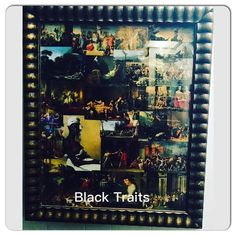 """Artwork Name: """"Black Traits""""  Artist: Marlawn Heavenly VII  Status: SOLD Email/Text Offer: 1-313-444-6712 SportyNerd@ymail.com Artwork made with 100% recycled materials --------------------------------------------------------- Being Marlawn - My Life My Love My World My Passion My Mindstate My Memories - Marlawn Heavenly VII  www.SportsBettingHedgeFund.com ------------------------------------- #Marlawn #NewYork state of mind #Sportsbetting #HedgeFund  #Stockbroker / #Wallstreet blueprint…"""
