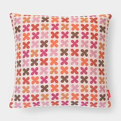 Quatrefoil Pillow - Pink