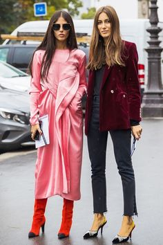 Best Duo: Giorgia Tordini and Gilda Ambrosio via @WhoWhatWear