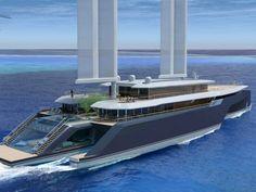 VIDEO MYS - VPLP dévoile Komorebi, un projet de yacht trimaran hybride de 85 mètres Yacht Design, Boat Design, Catamaran, Jets Privés De Luxe, Jet Privé, Monaco Yacht Show, Buy A Boat, Float Your Boat, Boat Trailer