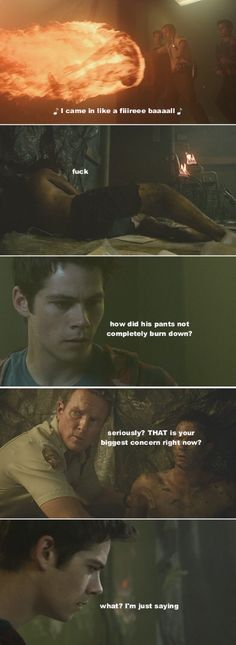 Teen Wolf Stiles's priorities