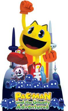 PAC-MAN and the Ghostly Adventures Standup. #BirthdayExpress #Party #PacMan #Birthday
