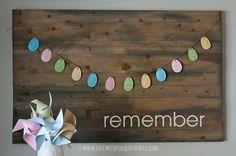 Salt dough egg ornaments for Easter, easy craft for kids: Life With Fingerprints