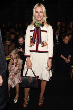 Valeria Mazza in Gucci