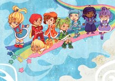 I remember Rainbow Brite!     http://www.etsy.com/listing/73828921/color-of-the-80s-5x7-art-print