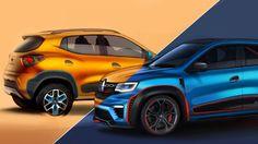Renault Kwid Racer and Kwid Climber