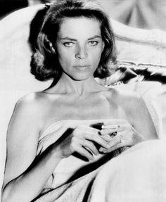 Smoking in Bed: Lauren Bacall