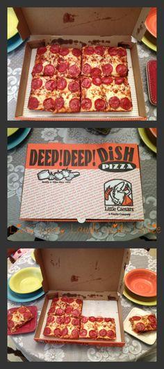 Live, Love, Laugh With Leslie: ♥Little Caesars DEEP! DEEP! Dish Pizza Review & $10 Little Caesars GC Giveaway! USA-5/12