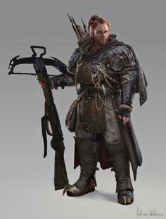 Random Fantasy/RPG artwork I find interesting,(*NOT MINE) from Tolkien to D&D.hope you enjoy it! Fantasy Character Design, Character Concept, Character Art, Concept Art, Game Concept, Fantasy Male, Fantasy Armor, Medieval Fantasy, Dungeons And Dragons Characters