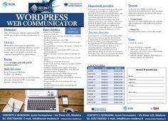 #Modena corso Wordpress Web Communicator febbraio/marzo 2017 Periodic Table, Wordpress, Periodic Table Chart, Periotic Table