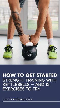 Whether you want to lose weight or build muscle, kettlebell workouts can help improve your full-body fitness. Learn the best kettlebell strength-training exercises. Kettlebell Workout Routines, Best Kettlebell Exercises, Kettlebell Training, Strength Training Workouts, Weight Training, At Home Workouts, Training Exercises, Boxing Workout, Body Workouts