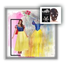 snow white by wendy-737 on Polyvore featuring polyvore moda style Disney fashion clothing