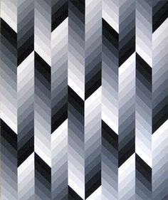 12 greys  Values here offer a progression and motion in a criss-cross fashion.  - JGW