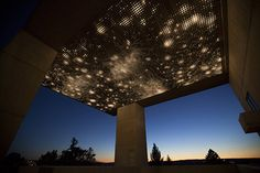 Leo Villareal Opens a Window into the Cosmos at Cornell