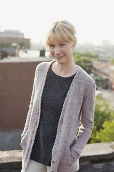 Reine...from Wool People 3...by Alexis Winslow.  Love the details on this sweater