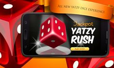 Jackpot Yatzy Rush lets you spin the Dice on your very own set of virtual Yatzy machines to win coins and hit hot jackpots! Enjoy real life gambling outside a casino in your device! If you LOVE Yatzy, there's no doubt you'll be downloading this one! https://play.google.com/store/apps/details?id=com.texas.JackpotYatzyRush #Yatzy #Jackpot #Rush