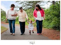 Would love to be able to do this...Four Generations – Charlotte, NC Family Photographer » Photography by Hailey K