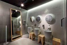 toilettes avec design original