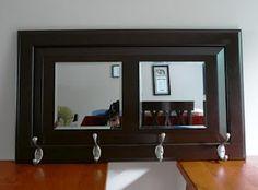 Cabinet Door Turned Purse/Coat hanger