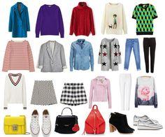 Как создать стильный базовый гардероб для девочки-подростка? Уроки стиля для мам и дочек в Школе Шопинга!