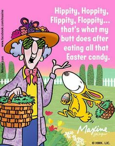 Maxine at Easter - Maxine Humor - Maxine Humor meme - - Maxine at Easter The post Maxine at Easter appeared first on Gag Dad. memes hilarious Maxine at Easter Happy Easter Meme, Funny Easter Memes, Funny Easter Pictures, Funny Memes, Easter Jokes, Easter Cartoons, Funny Sayings, Funny Cute, Hilarious