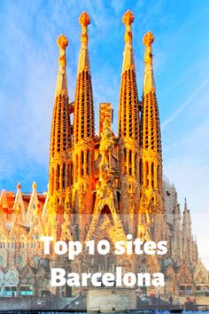 Top 10 sites in Barcelona. The best things to see in Barcelona. Travel Barcelona. Visit Barcelona.  #Barcelona #Spain European Travel Tips, Europe Travel Guide, Europe Destinations, Travel Guides, Visit Barcelona, Barcelona Travel, Barcelona Spain, Spain And Portugal, Portugal Travel