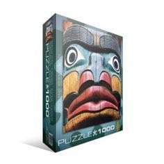 Totem Pole 1000-Piece Puzzle