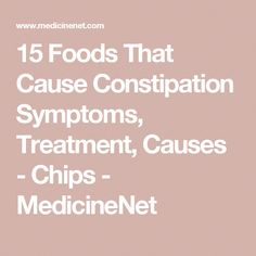 constipation diet plan