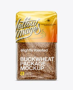 Buckwheat Package Mockup. Preview