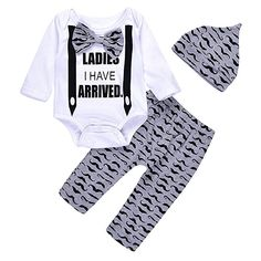 Funny Lettering Boss Babe 3pcs Baby Girl Leopard 3pcs Set Bodysuit Shorts Headband Outfit Clothes
