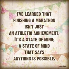 Marathon Motivation-- time for another one