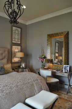 Bedroom, Soft Palette, Neutrals
