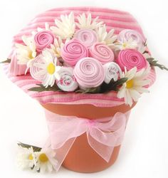 Nikki's Baby Blossom Clothing Bouquet Gift-Girl