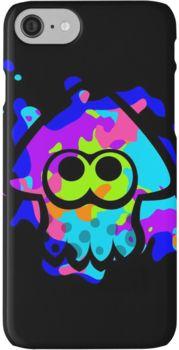 Splatoon Squid iPhone 7 Cases