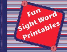 Kindergarten Sight Word Search | Free Kindergarten Printables | Readyteacher.com