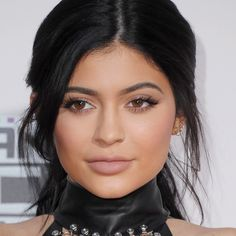 Inspiration via Kylie Jenner - get the look with our Nonstop Liquid Lipstick in Ribbon.