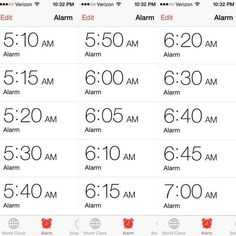 ...when you need this many alarms to get up... | 35 Pictures That Prove The Struggle Is Alive And Well