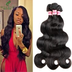Malaysian Virgin Hair Body Wave 4 Bundles Deal Malaysian Body Wave 7A Unprocessed Virgin Hair Weave 100% Human Hair…