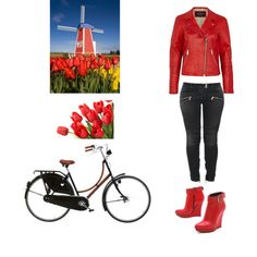 """Weekend in Amsterdam."" by anamolina41 on Polyvore"