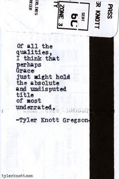 Typewriter Series #432by Tyler Knott Gregson