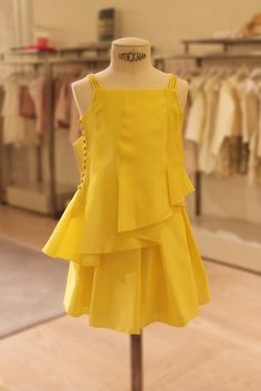 The perfect colour for a Summer's day, this #Dior dress is a #MiniHarrods favourite.