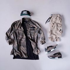 WEBSTA @ kickstography - Camo Thursday @outfitgrid @outfitsociety @deezywear