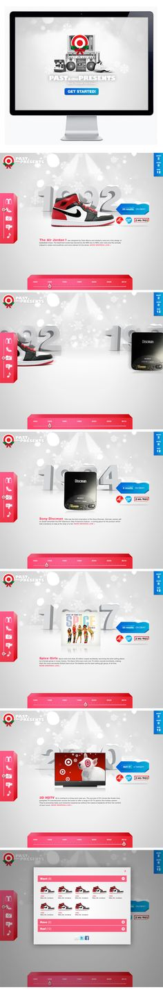 #Target and MTV by #Moosesyrup, via #Behance #Webdesign