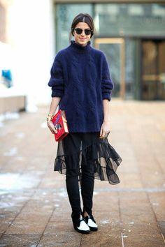 leggings under skirts! 這個冬天一起來試試!玩轉內搭褲新穿法 | Popbee - 線上時尚生活雜誌