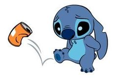 Stitch Stickers by The Walt Disney Company Ltd ( Japan). Stitch (also known as Experiment is a fictional character in the Lilo & Stitch. Lilo En Stitch, Lilo And Stitch Quotes, Disney Drawings, Cute Drawings, Disney Stich, Stitch Drawing, Film Anime, Cute Stitch, Little Stitch